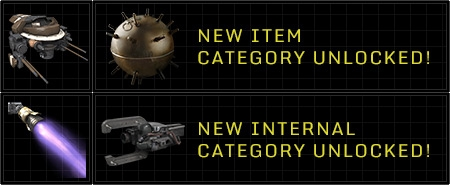 Gain Pilot Levels to Unlock Customizations, Items and Internals