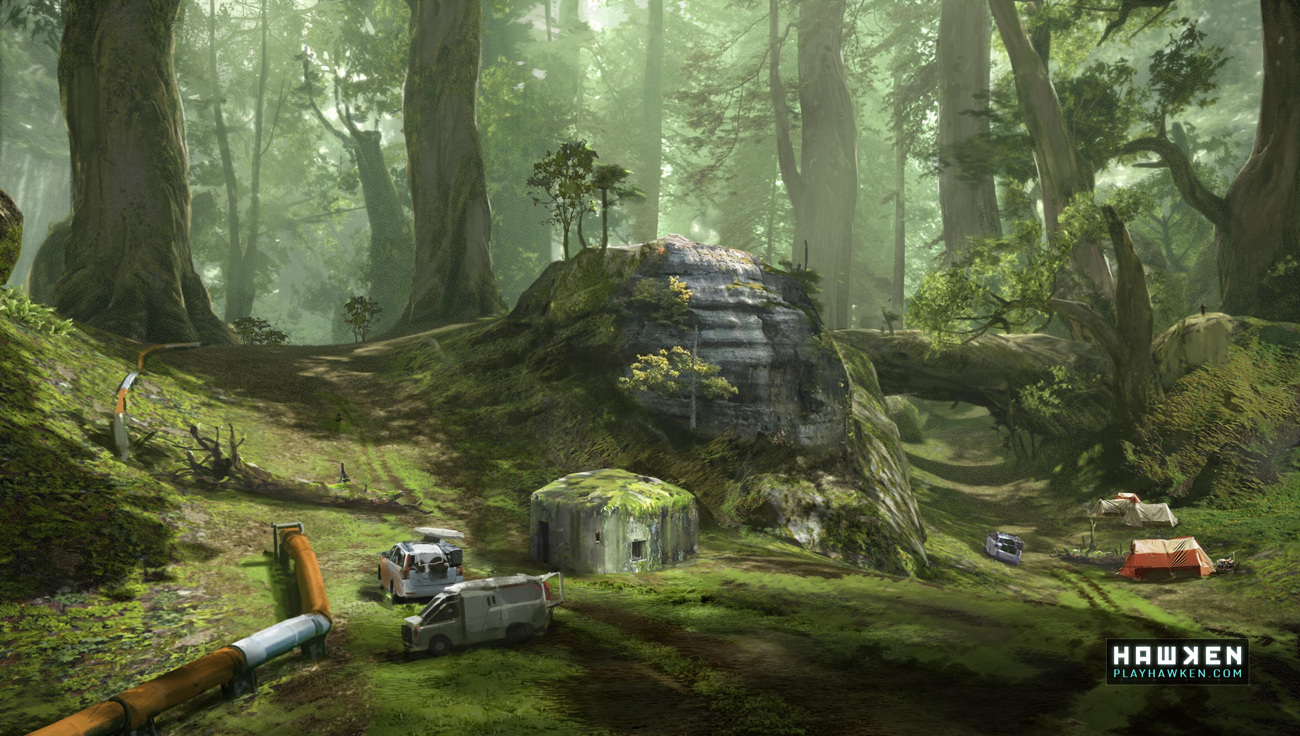 HAWKEN Artwork - Free-to-Play Multiplayer First-Person-Shooter ...