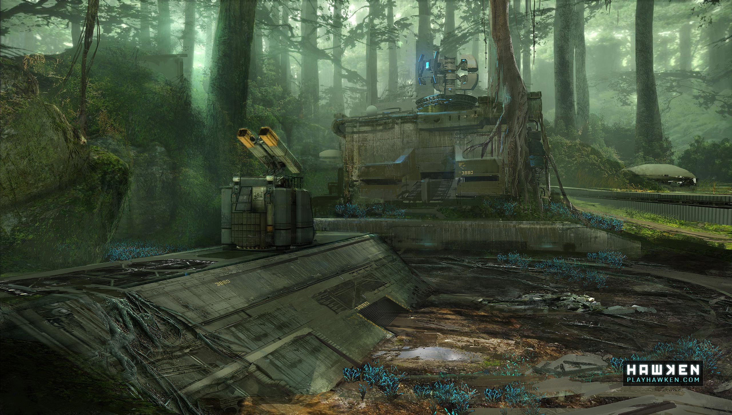 2013 Meteor Entertainment, Inc. All rights reserved. HAWKEN, Meteor ...